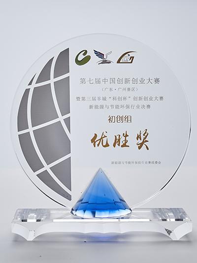 创新创业大赛优胜奖