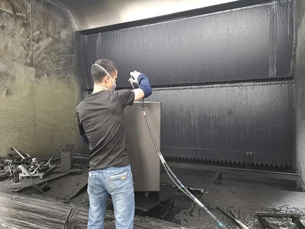 水帘柜产生的喷漆废水处理