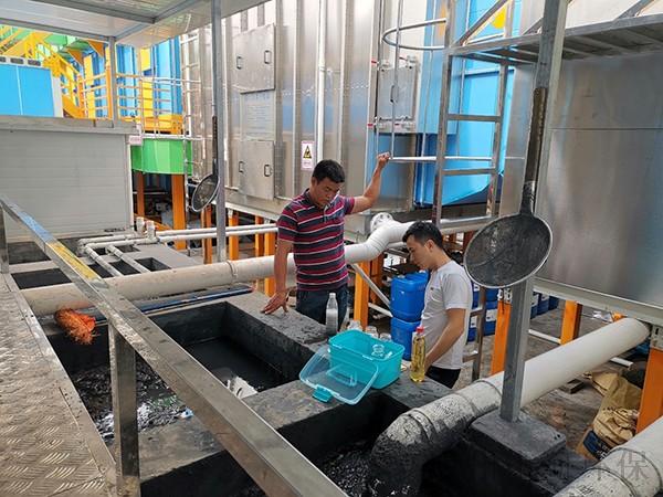 一种比较经济的喷漆废水处理的方法