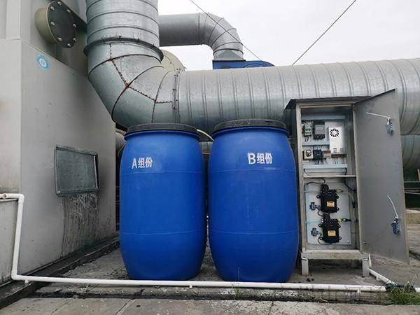 运动器材行业喷漆废水处理案例